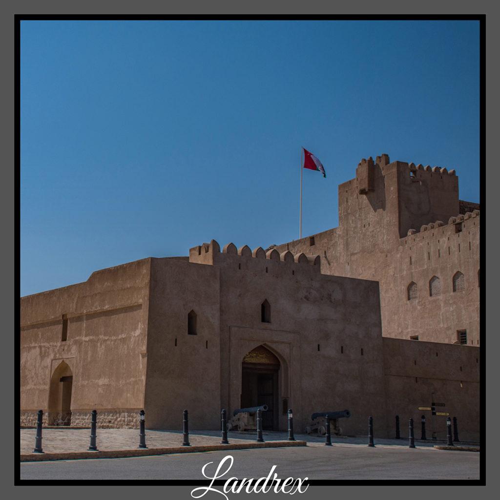 Oman forte di Jabrin