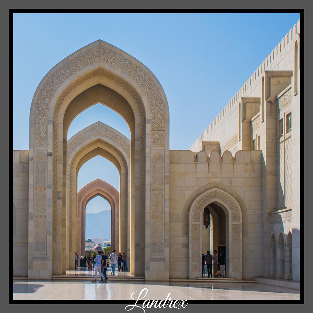 Oman Grande Moschea del Sultano Qaboos